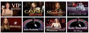 Royal Spinz live casinopelit