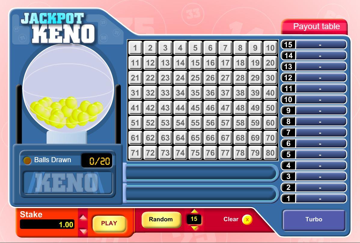 La Fiesta Casinon Jackpot keno