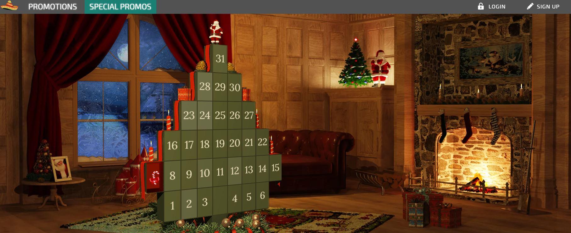 La Fiesta Casino - joulukalenteri